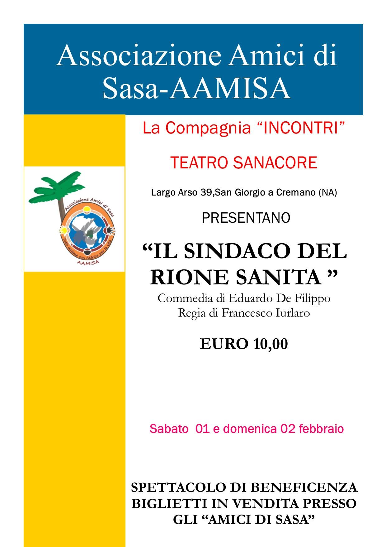 Locandina Teatro Sanacore